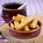 BBQ Turnip Fries from Low-Carb, So Simple Book