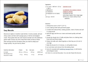 Sneak Peek of  Easy Biscuits from Easy Everyday Recipes Book