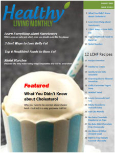 Cover of the August 2015 Newsletter